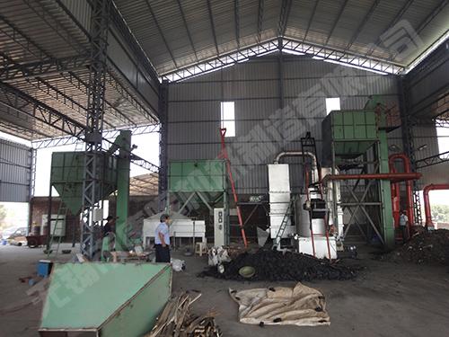 出口印度热法再生砂设备 燃料:煤