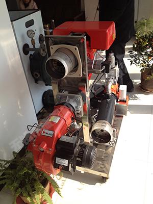 热法再生砂设备用天然气燃烧机